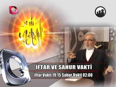 Ali Rıza DEMİRCAN hocamız 2018 Ramazan ayında Flash TV'de...