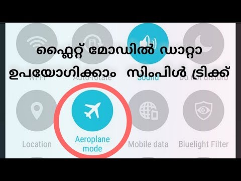 Flight mode internet using tip Android
