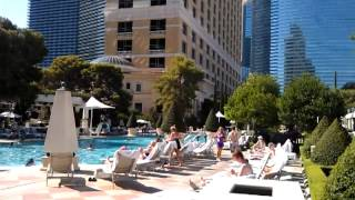 Video At the Las Vegas Bellagio Pool Cafe & Pool MP3, 3GP, MP4, WEBM, AVI, FLV Juli 2018
