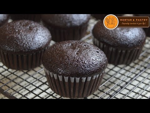 CHOCOLATE CUPCAKE RECIPE | Ep. 29 | Mortar and Pastry
