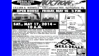 Sell With Hale Auction May 16th