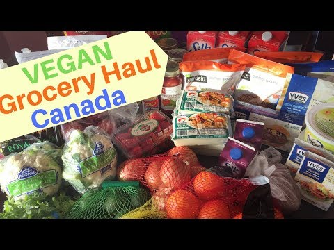 Vegan Grocery Haul-Vegan Options At Superstore Canada-Vegan Pregnancy What I Eat In A Day