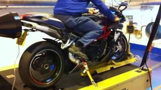 4. Hammer and Tongs Dyno run 2010 MV Agusta F4 1000