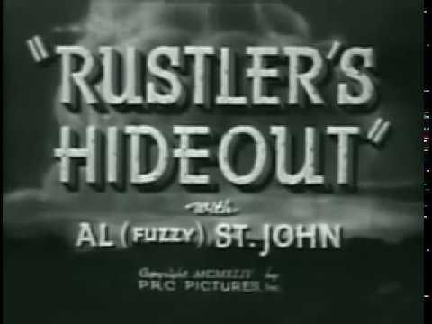 [Western] Rustlers' Hideout (1945) Buster Crabbe, Al St. John, Patti McCarty