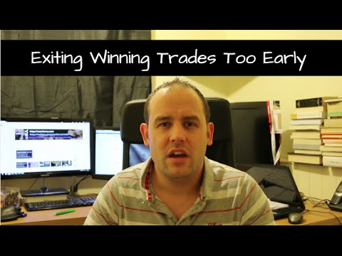 Exiting Winning Trades Too Early? Missing Out?