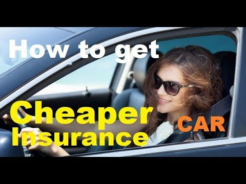 TOP 10 Tips for CHEAPER Car Insurance - How to get Lower Auto Insurance Rates (2017-2018)