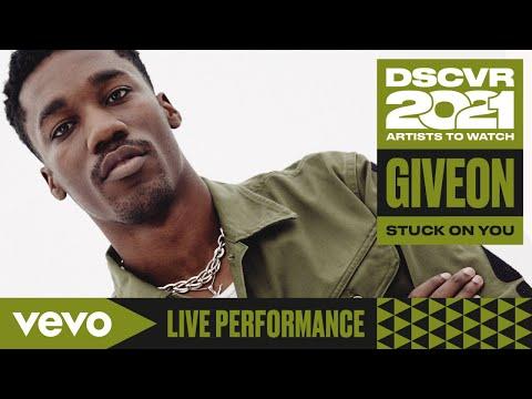 Giveon - Stuck On You (Live)   Vevo DSCVR Artists to Watch 2021