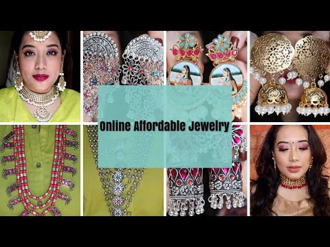 Must Have Jewellery/Online affordable good quality Bridal/silver/Oxidized/ jewelry Haul I Sweta Das