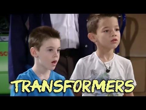 Video Los Transformers en la cámara oculta de El Hormiguero de Cine y televisión