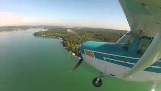 Time Lapse of a 25 minute flight.