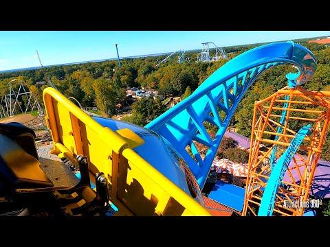 Sky Rocket II Launch Coaster - Tempesto - Busch Gardens - GoPro 9 - Verbolten Coaster