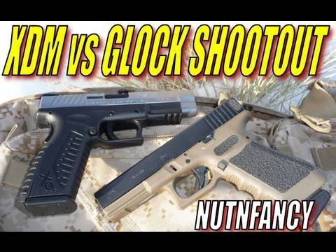 XDM vs Glock Shootout! by Nutnfancy