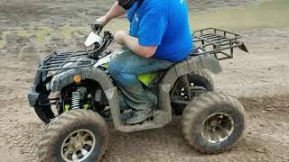 4. Tao Tao Bull 200 mudding at Tri-County ATV Park