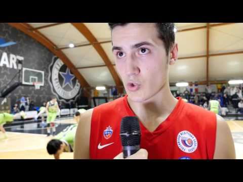 ANGT Rome interview: Mikhail Andrianov, U18 CSKA Moscow