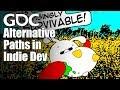 Alternative Paths in Indie Dev