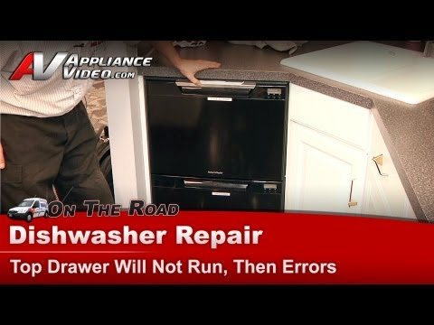 Fisher And Paykel Dishwasher Repair - Top Drawer Will Not Run Or Wash- - Diagnostic & Repair