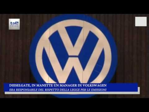 DIESELGATE, IN MANETTE UN MANAGER DI VW