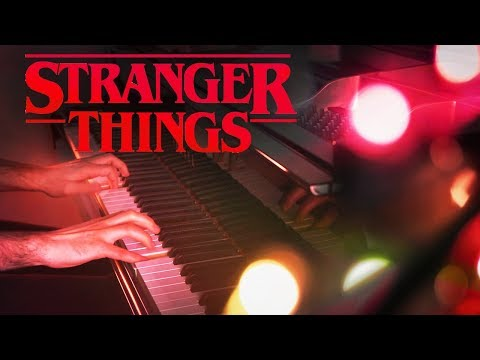 """Stranger Things"" Main Theme Piano Cover"
