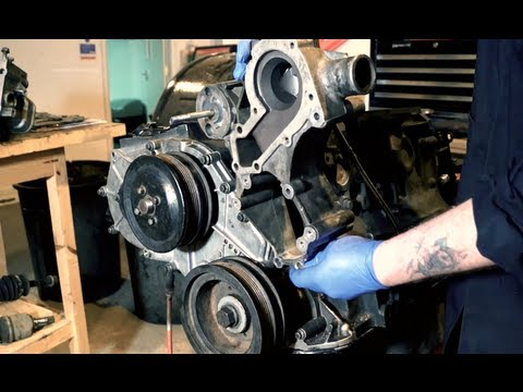 Replacing the P gasket PET 100790 – 300tdi engine Land Rover