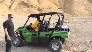 10. Kawasaki Teryx saves a Jeep