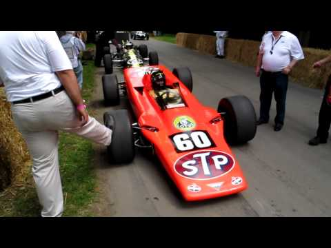 1968 Lotus 56 at the 2011 Goodwood Festival Of Speed