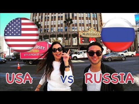 Что американцы думают о русских Социальный опрос. - DomaVideo.Ru