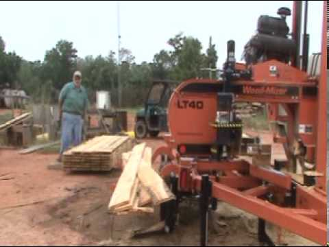 Mr. Lawler demonstrates his LT40 Hydraulic sawmill, as he shares about his sawing business. Near the end, he shares about his experiences with Wood-Mizer, and gives his thoughts on the company and the equipment.