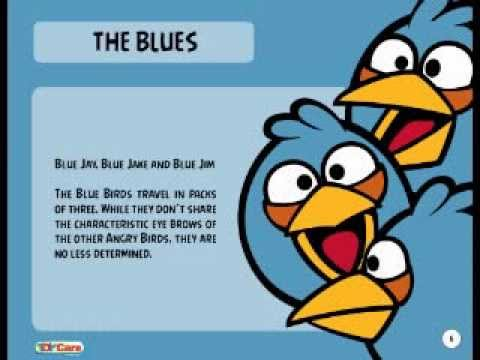 Personnages Angry Birds