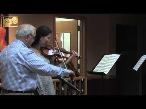 Bach, Sonata No. 1 in G minor, 4th movement