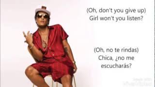 Bruno mars - Too good to say goodbye / español /inglés Video