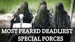 10 Most Dangerous Special Forces In The World    2017    Military Special Forces