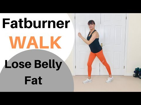 Fat burner - FATBURNER WALK TO LOSE BELLY FAT  HOME WORKOUT TO BURN BELLY FAT