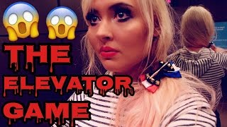PLAYING THE ELEVATOR GAME! ROUND 2!