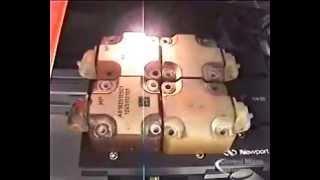 2D Matrix Laser Marking System for ID Metal Parts