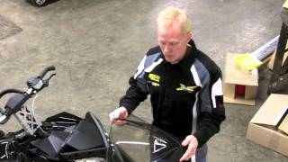 8. Ski-Doo Mountain Windshields, How to Install