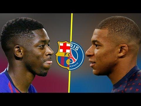 Kylian Mbappe VS Ousmane Dembele - Who Is The Best Talent? - Amazing Goals & Skills - 2018
