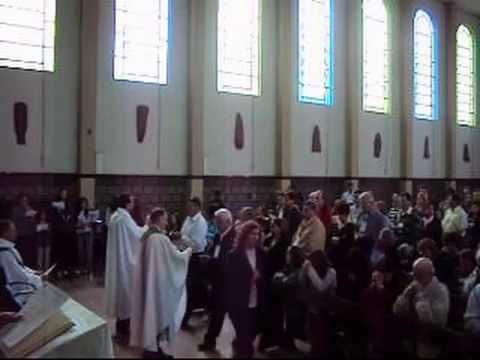 Salesianos de Dom Bosco - Missa solene no encontro dos Exalunos em Ascurra 19 set 2010