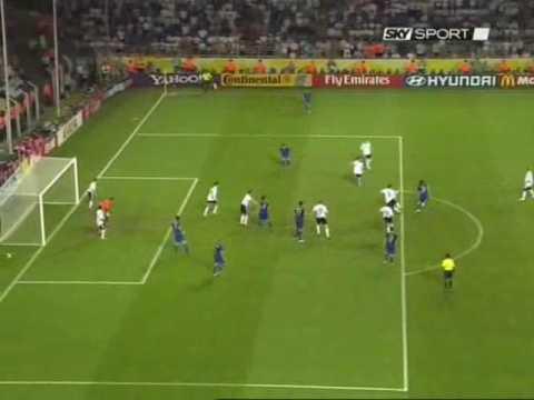 semifinale mondiali 2006 - italia vs germania (4 minuti finali)