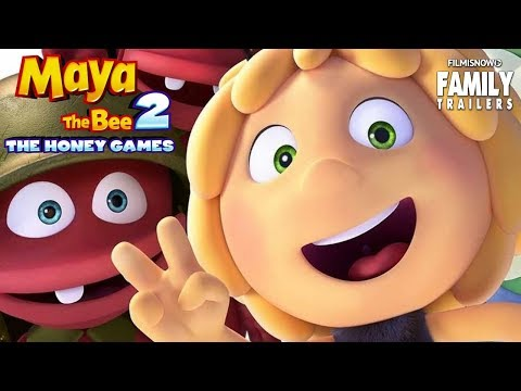 MAYA THE BEE - THE HONEY GAMES | All Clips And Trailer Compilation - Animated Family Movie