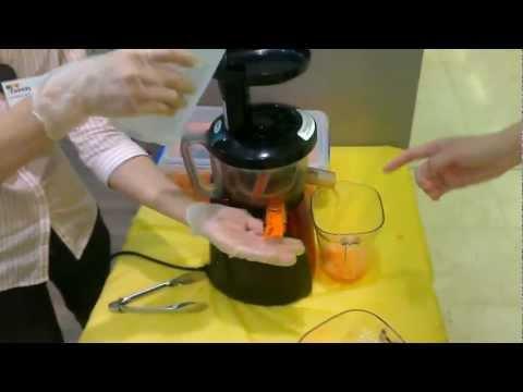 7Smile Slow Juicer In Store Demonstration