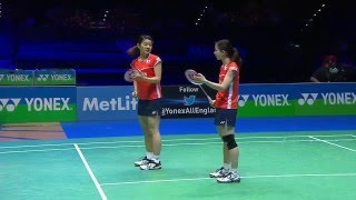 Download Video Yonex All England Open 2016 | Badminton F M2-Mat/Tak vs Tang/Yu MP3 3GP MP4