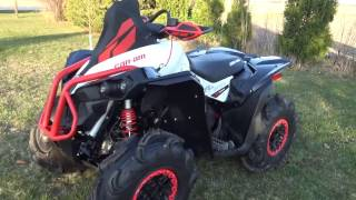 3. 2017 Can-am Renegade 570 XMR review