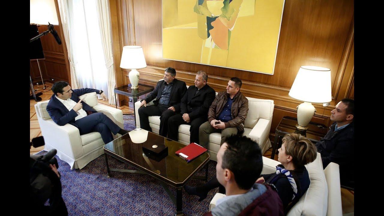 Συνάντηση με εκπροσώπους της Π.Ο.Π.Υ.Σ.Υ.Π