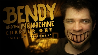 BENDY - CARTOON TERROR - Bendy and The Ink Machine Gameplay - Chapter 1 - Bendy Game