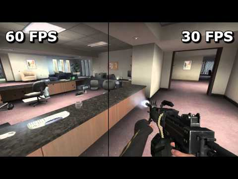 fps - On the left, 60 FPS. On the right, 30 FPS. In the middle, a wobbly line that keeps the two separate. Can you see the difference? When is it most apparent? You need to be using Chrome and have...