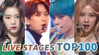 Video [TOP 100] MOST VIEWED K-POP MUSIC SHOW AND COMEBACK SHOW LIVE STAGES MP3, 3GP, MP4, WEBM, AVI, FLV Juni 2019