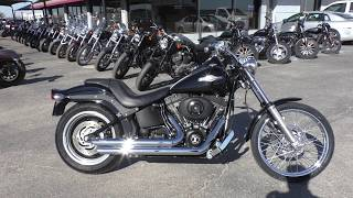 6. 027174   2006 Harley Davidson Softail Night Train   FXSTBI - Used motorcycles for sale
