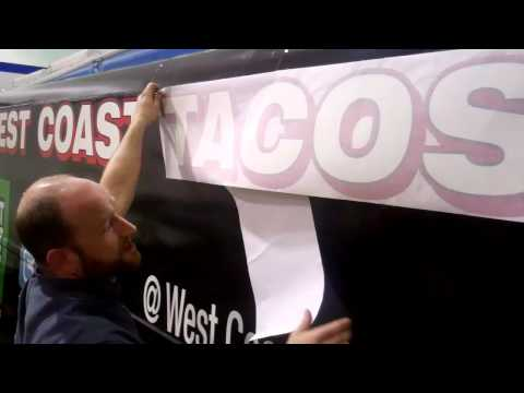 How to Apply Decals on a Vehicle: West Coast Tacos Food Truck | TKO Graphix