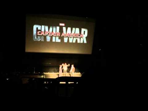 special - Live Marvel Media Day Event from El Capitan Theater in Hollywood on 10/28/2014 Phase 3 Line up Guardian of the Galaxy Captain America 2 Civil War Doctor Strange Thor Ragnarok Black Panther...