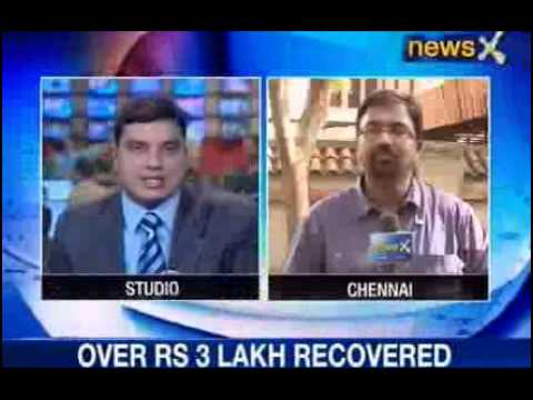 mumbai - NewsX: With the role of BCCI President N Srinivasan's son-in-law now coming to limelight..Mumbai police was today seen at Gurunath Meiyappan's residence in C...